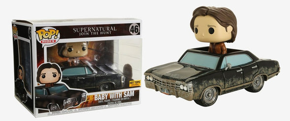 Supernatural - Baby with Sam Exclusive Pop! Vinyl Ride