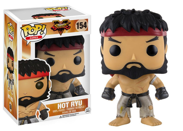 Street Fighter V - Hot Ryu POP! Vinyl Figure