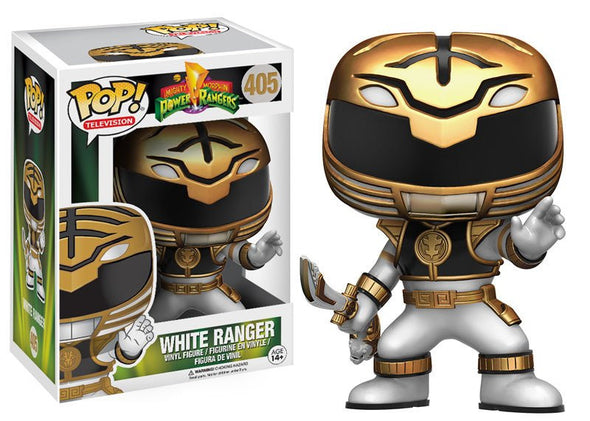 Power Rangers White Ranger Pop Vinyl Figure