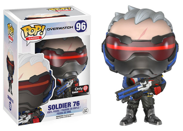 Overwatch - Exclusive Soldier:76 Pop! Vinyl Figure