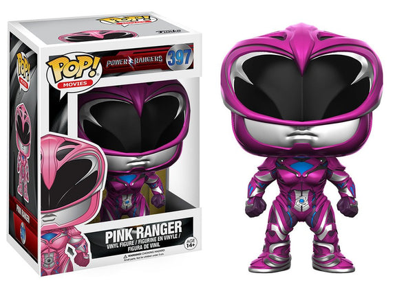 Power Rangers Movie - Pink Ranger Pop Vinyl Figure