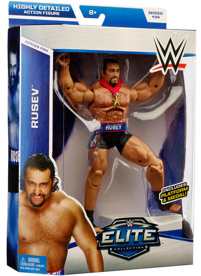 WWE Elite Series 34 - Rusev