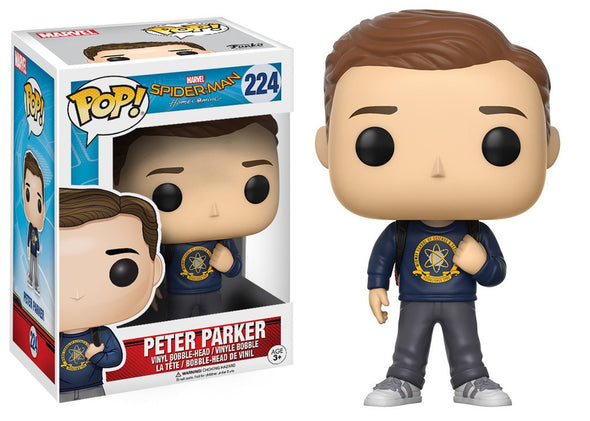 Spider-Man Homecoming - Peter Parker Pop! Vinyl Figure