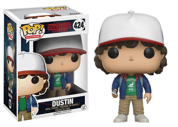 Stranger Things - Dustin Pop! Vinyl Figure