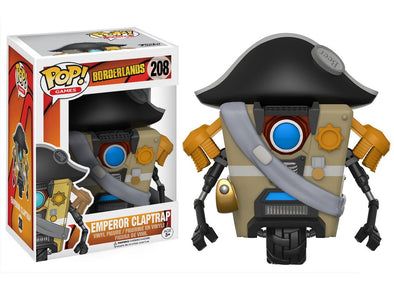 Borderlands - Emperor Claptrap Pop! Vinyl Figure