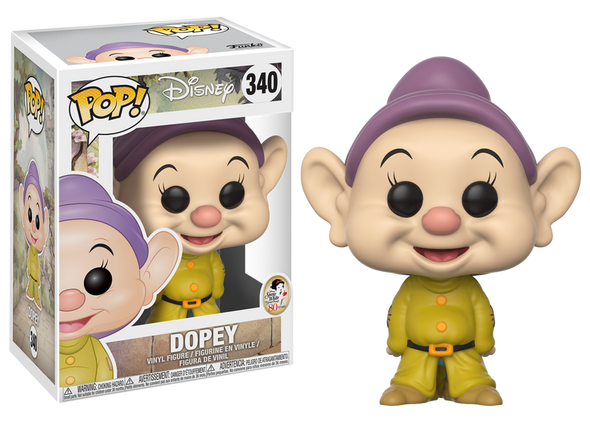 Disney Snow White - Dopey Dwarf Pop! Vinyl Figure