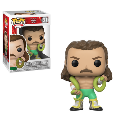"WWE - Jake ""The Snake"" Roberts Pop! Vinyl Figure"