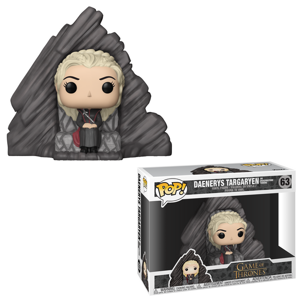 Game of Thrones - Daenerys Targaryen on Dragonstone Throne Deluxe Pop Vinyl Figure