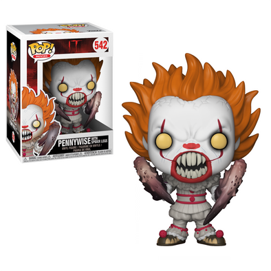 IT The Movie (2017) - Pennywise with Spider Legs Pop! Vinyl Figure