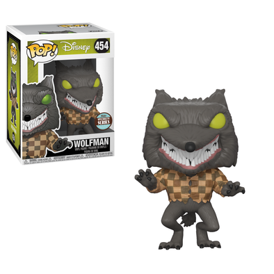 Disney - Nightmare Before Christmas Specialty Series Wolfman Exclusive Pop! Vinyl Figure