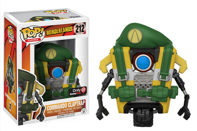 Borderlands - Commando Claptrap Exclusive Pop! Vinyl Figure