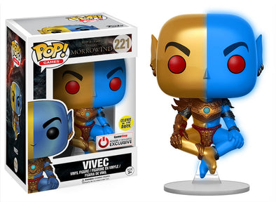 The Elder Scrolls - Vivec Glow-In-The-Dark Exclusive Pop! Vinyl Figure