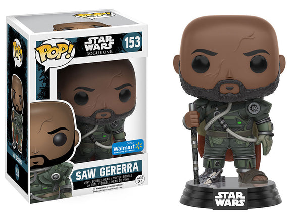 Star Wars: Rogue One - Saw Gererra Exclusive Pop! Vinyl Figure