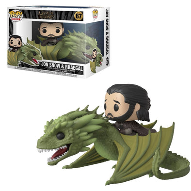 Game of Thrones - Jon Snow with Rhaegal Pop! Vinyl Ride