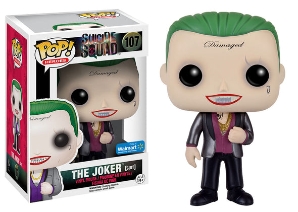 Suicide Squad - The Joker Suit Exclusive Pop! Vinyl Figure