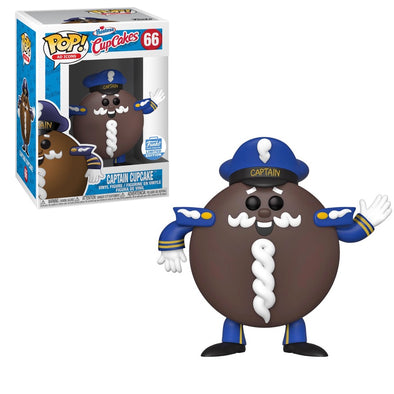 POP Ad Icons - Captain Cupcake Exclusive Pop! Vinyl Figure