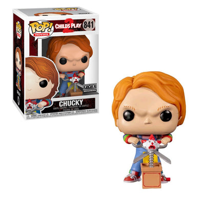 Child's Play 2 - Chucky (with Buddy and Scissors) Exclusive Pop! Vinyl Figure