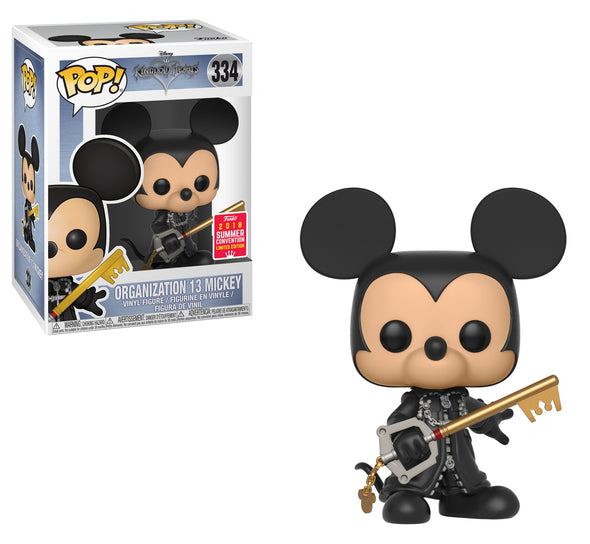 SDCC 2018 - Kingdom Hearts Organization 13 Mickey (Unhooded) Exclusive POP! Vinyl Figure