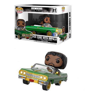 POP Rocks - Ice Cube with Impala Pop! Vinyl Vehicle