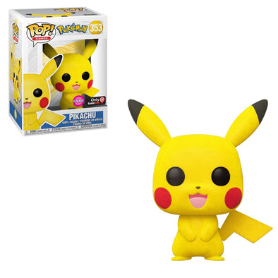 Pokemon - Flocked Pikachu Exclusive Pop! Vinyl Figure