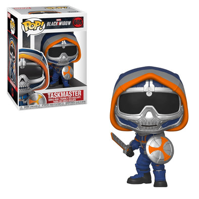 Marvel Black Widow - Taskmaster /w Sword and Shield Pop! Vinyl Figure