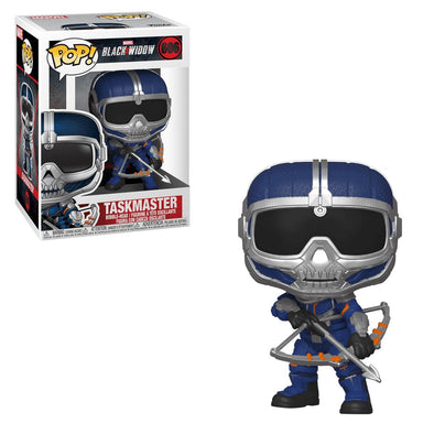 Marvel Black Widow - Taskmaster /w Bow Pop! Vinyl Figure