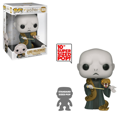 Harry Potter - 10-inch Lord Voldemort (with Nagini) Pop! Vinyl Figure