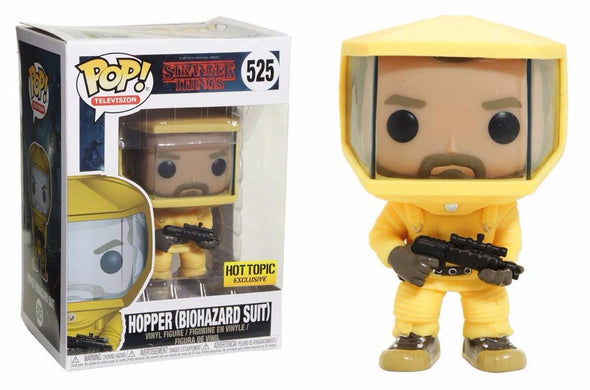 Stranger Things - Hopper (Biohazard Suit) Exclusive Pop! Vinyl Figure