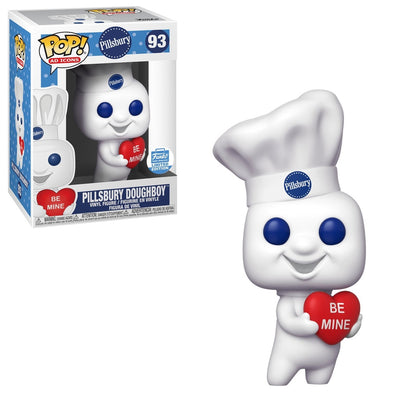POP Ad Icons - Pillsbury DoughBoy /w Heart Exclusive Pop! Vinyl Figure