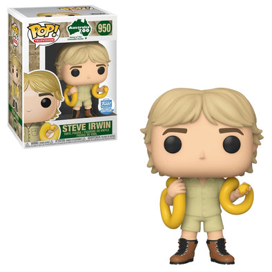 Australia Zoo - Steve Irwin /w Snake Exclusive Pop! Vinyl Figure