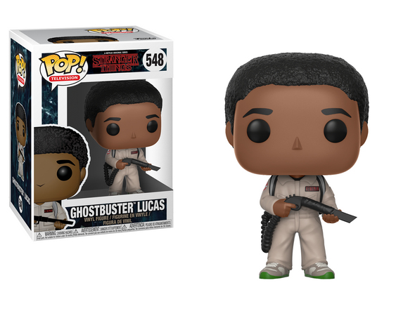Stranger Things - Ghostbuster Lucas Pop! Vinyl Figure