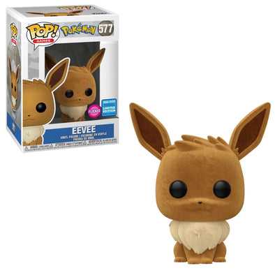 WonderCon 2020 - Pokemon Flocked Eevee Exclusive Pop! Vinyl Figure