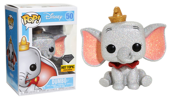 Disney - Dumbo (Diamond Collection) Exclusive Pop! Vinyl Figure