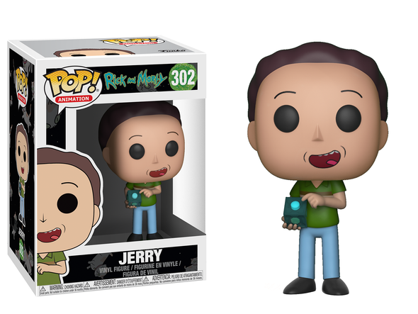 Rick and Morty - Jerry Pop! Vinyl Figure
