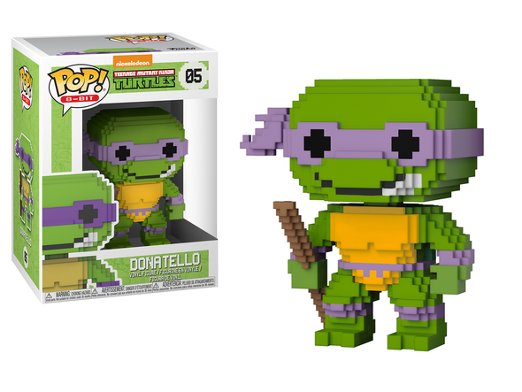 8-Bit - TMNT Donatello Pop! Vinyl Figure