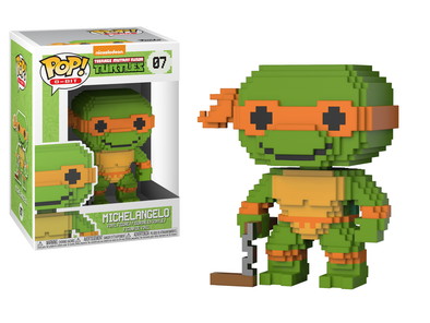 8-Bit - TMNT Michelangelo Pop! Vinyl Figure