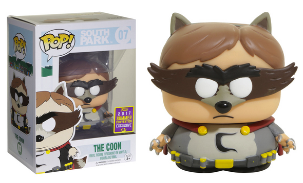 SDCC 2017 - South Park The Coon Exclusive Pop! Vinyl Figure