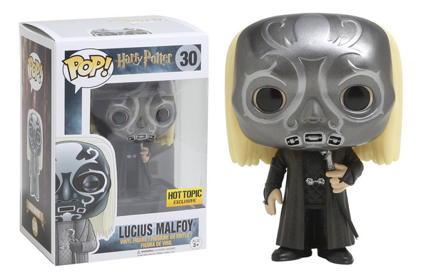 Harry Potter - Lucius Malfoy Masked Exclusive Pop! Vinyl Figure