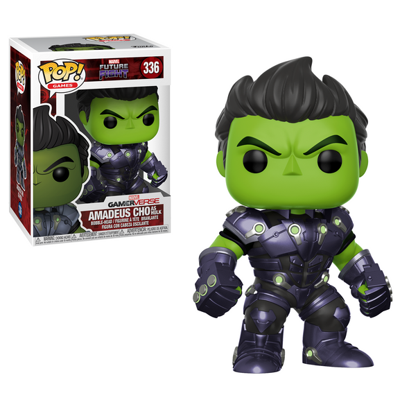 Marvel Future Fight - Amadeus Cho as The Hulk POP! Vinyl Figure