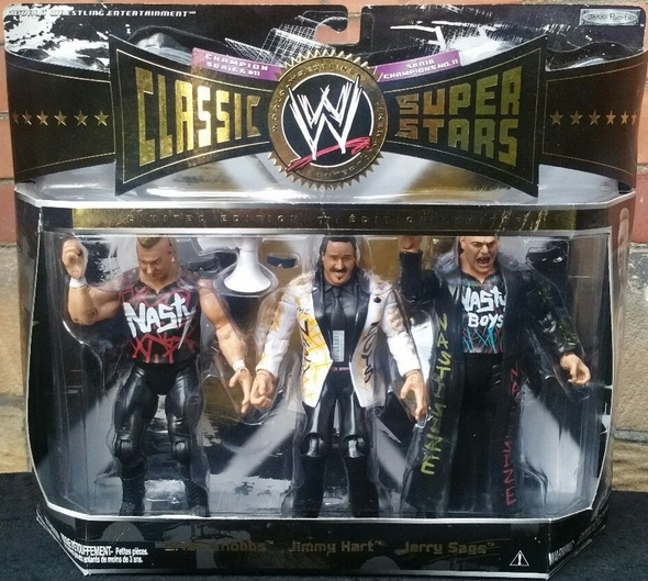 WWE Classic Superstars Elite - The Nasty Boys & Jimmy Hart Exclusive