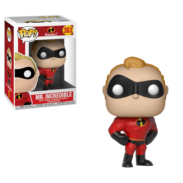 Incredibles 2 - Mr. Incredible Pop! Vinyl Figure