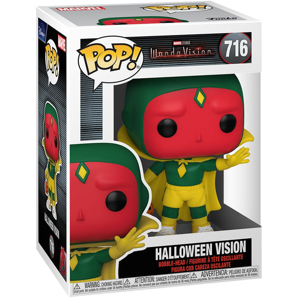 Marvel WandaVision - Halloween Vision Pop! Vinyl Figure