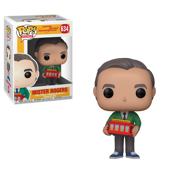 Mister Rogers Neighborhood - Mister Rogers (with Trolley) Pop! Vinyl Figure