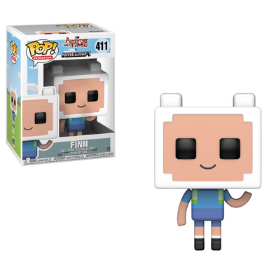 Adventure Time Minecraft - Finn POP! Vinyl Figure