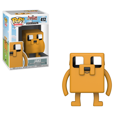 Adventure Time Minecraft - Jake POP! Vinyl Figure