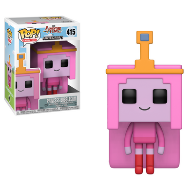 Adventure Time Minecraft - Bubblegum Princess POP! Vinyl Figure