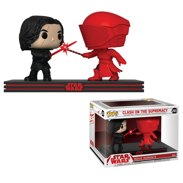 Star Wars: Movie Moments - The Last Jedi: Clash on the Supremacy Pop Vinyl Bobble Heads