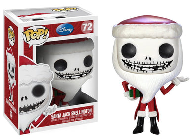 Disney Nightmare Before Christmas - Santa Jack Skellington Pop! Vinyl Figure