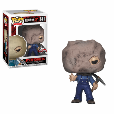Friday the 13th - Jason Voorhees (Bag Face) Exclusive Pop! Vinyl Figure