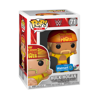 "WWE - Hulk Hogan ""Wrestlemania III"" Exclusive Pop! Vinyl Figure"